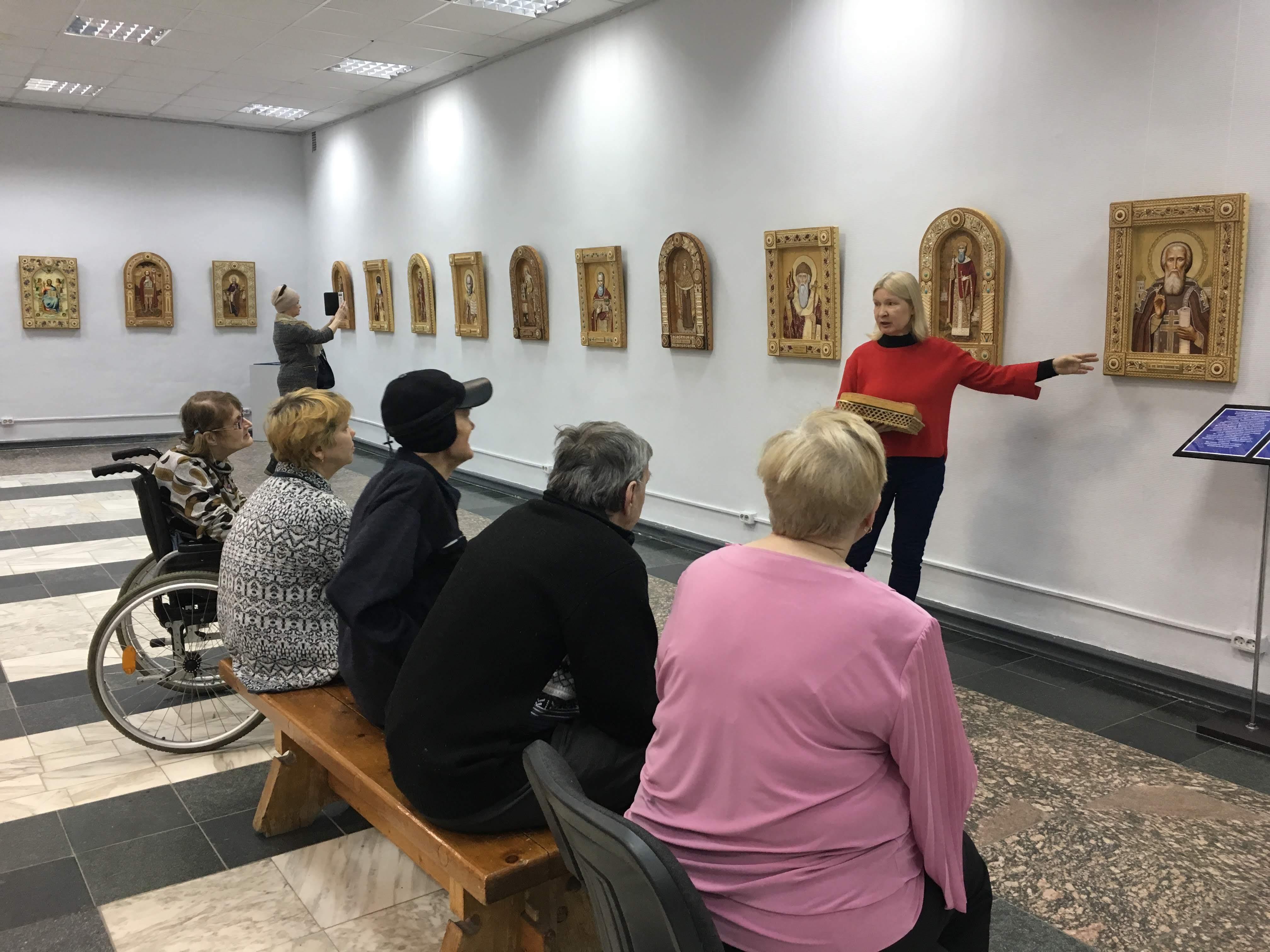 Арт выставка средства для дома престарелых пансионат для пожилых людей и инвалидов забота архангельск