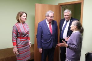 Рабочая встреча с Уполномоченным по правам человека в Пермском крае Павлом Миковым